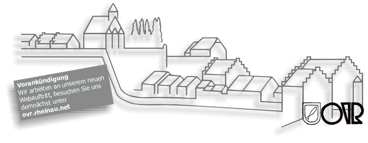 Historischer Dorfrundgang Rheinau