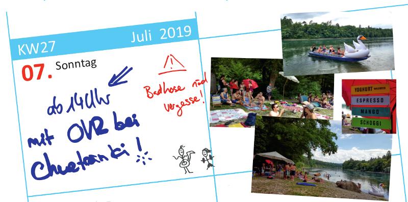 Sommeranlass am Rhein, Ortsverein Rheinau